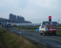 平鹿平野(一期)農業水利事業幹線用水路工事用道路復旧工事