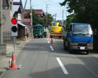 公共下水道幹線管渠埋設工事