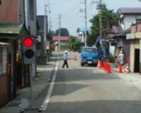 増田地区配水管工事